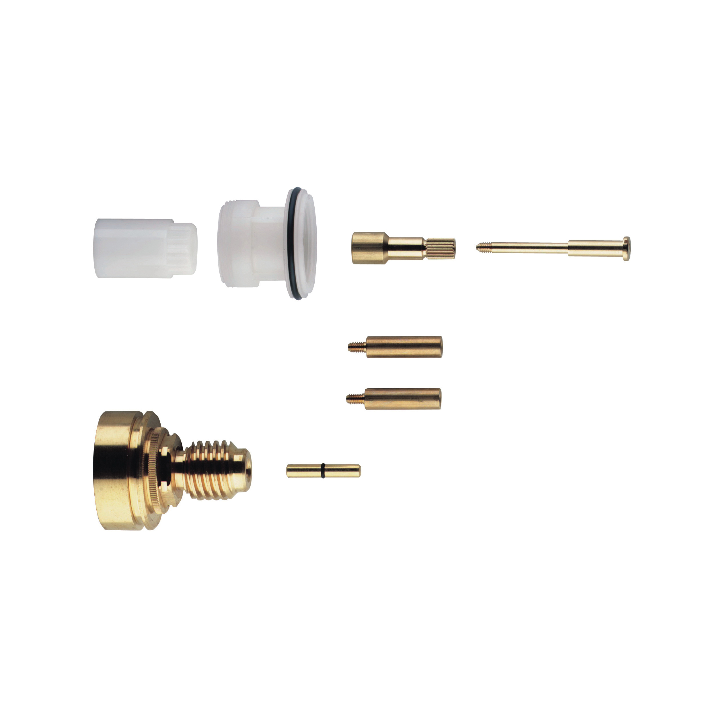 GROHE 47358000 Extension Kit, 1-1/8 in, For Use With: Taron 19658/19660 Mixer Shower, Sentosa 19609/19667 Shower Trim Set, Europlus 19682/19683 Thermostatic Shower Mixer, Grohtherm 3000 19663 Shower Mixer, 19664 Faceplate and Fixing Set