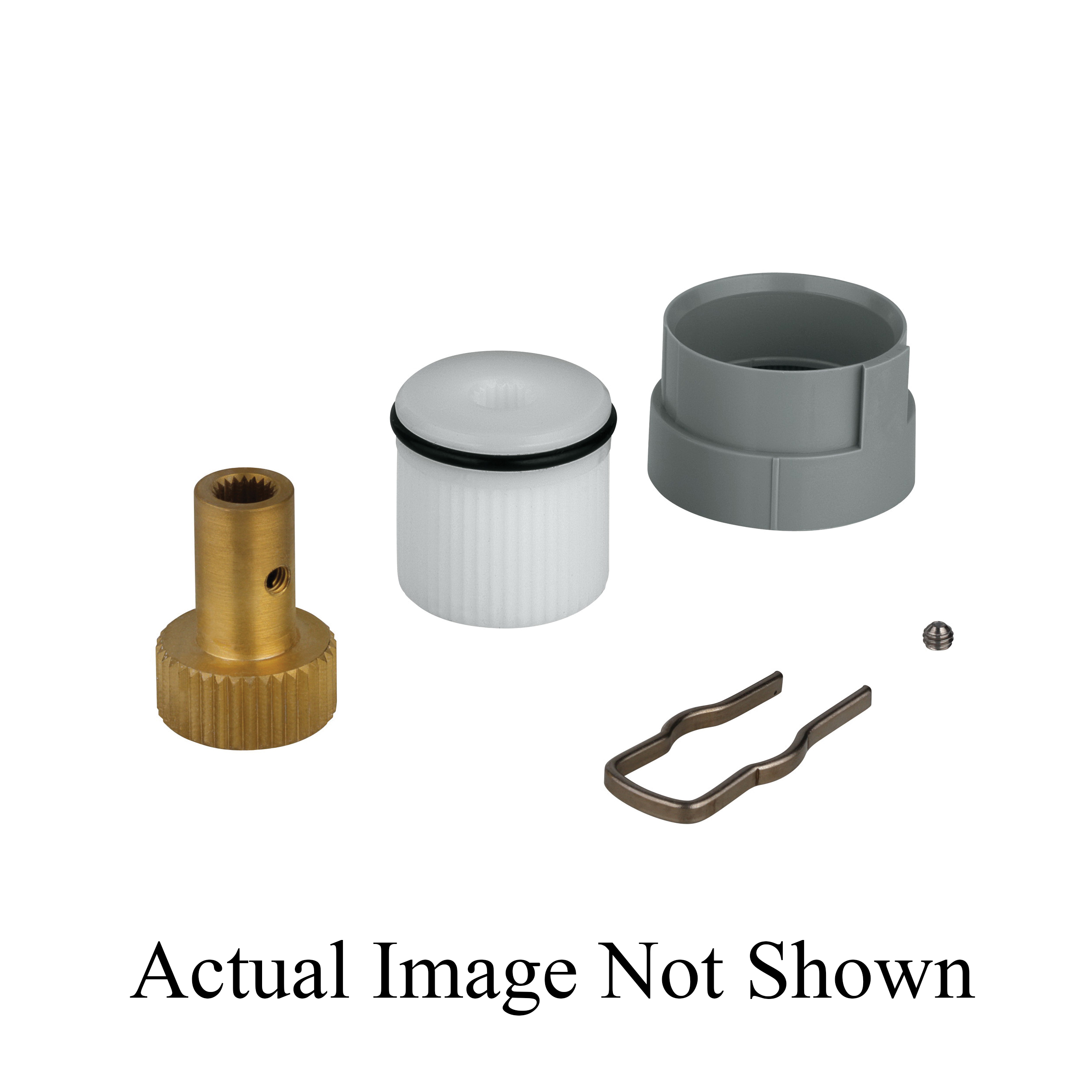 GROHE 47725000 Handle Adapter, For Use With 34331000 and 34397000 Central Thermostat Mixer, Import