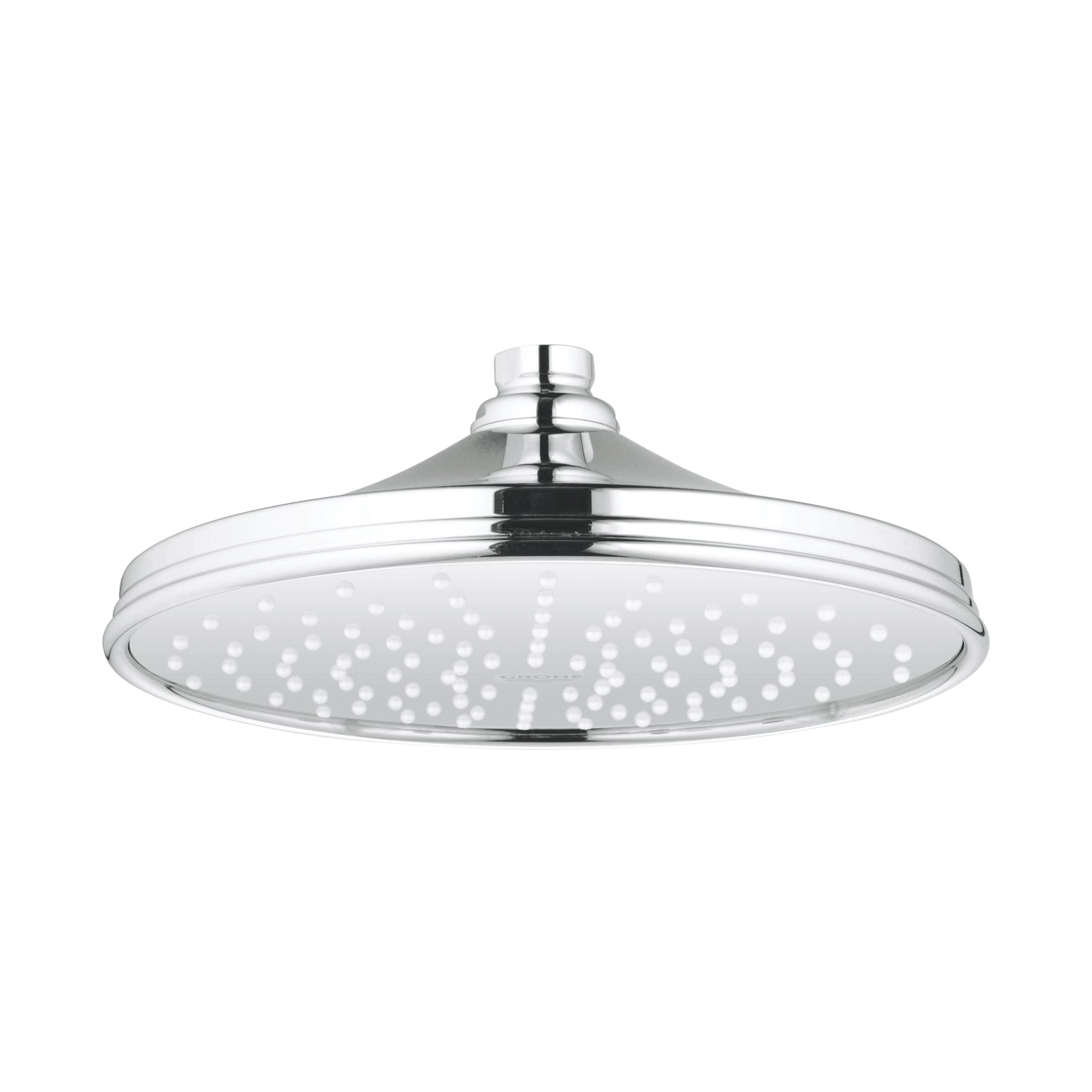 GROHE 27823000 Rainshower® Rustic 210 Shower Head, 2 gpm, 1 Spray, 8-1/4 in Head, Import