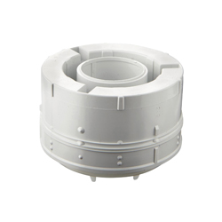 GROHE 43544000 Outlet Piston, For Use With Servo Discharge Valve, Plastic, White, Import