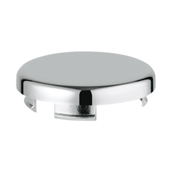 GROHE 45652000 Cover Plate, For Use With Relexa® Shower Rail and Relexa 28.627 Plus Wall Union, StarLight® Chrome, Import