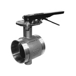 Gruvlok® 0880006523 FIG 6700 CTS Butterfly Valve, 2-1/2 in, Grooved, Bronze Body, Domestic