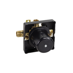 Hansgrohe 04120181 IP Pressure Balance Rough-In, 1/2 in NPT Inlet, Brass/Plastic Body, Domestic