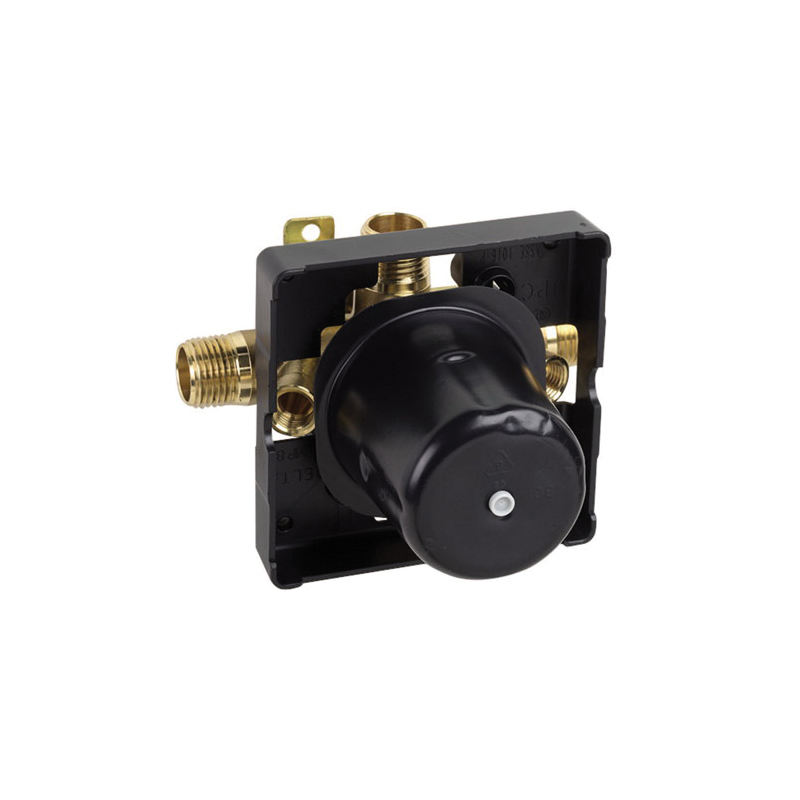 Hansgrohe 04121181 IP Pressure Balance Rough-In, 1/2 in NPT Inlet, 4.25 gpm, Brass/Plastic Body, Domestic