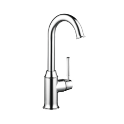 Hansgrohe 04217000 Talis C Bar Kitchen Faucet, 1.5 gpm, 1 Handle, Chrome Plated, Residential