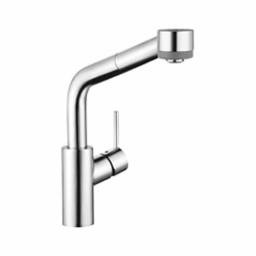 Hansgrohe 04247000 Talis S Pull-Out Kitchen Faucet, 1.75 gpm, 1 Faucet Hole, Chrome Plated, 1 Handle, Domestic