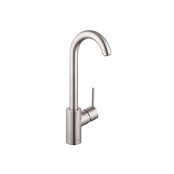 Hansgrohe 04287800 Talis S Bar Faucet, 1.5 gpm, 1 Handle, Steel Optik, Residential