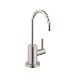 Hansgrohe 04301800 Talis S Universal Beverage Faucet, 1.5 gpm, 1 Handle, Steel Optik, Residential