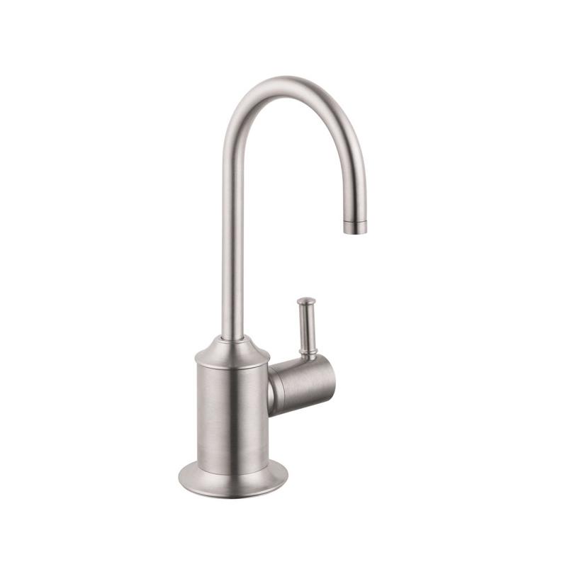 Hansgrohe 04302800 Talis C Universal Beverage Faucet, 1.5 gpm, 1 Handle, Steel Optik, Residential