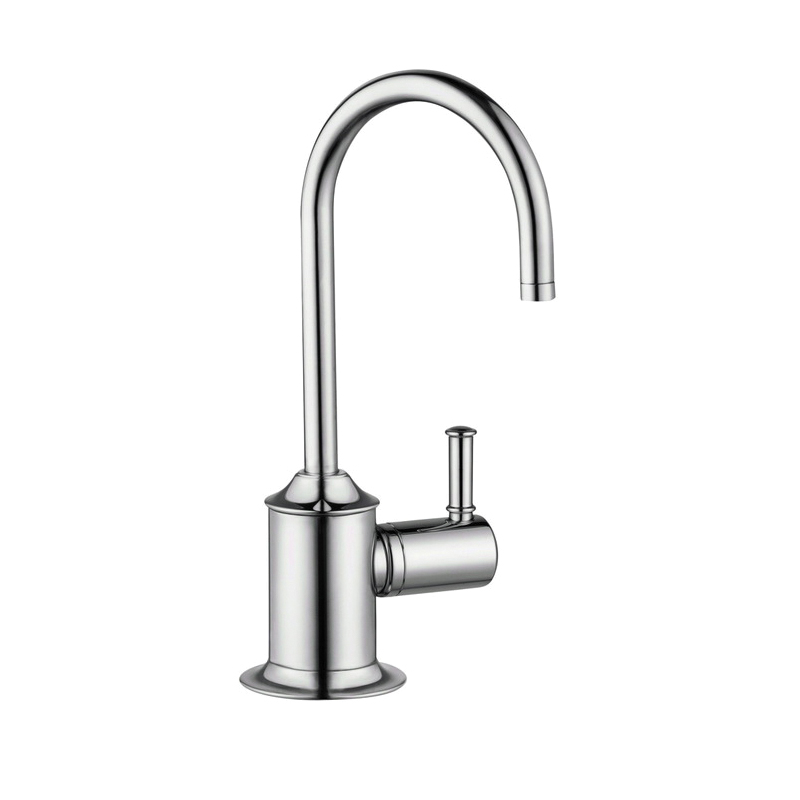 Hansgrohe 04302830 Talis C Universal Beverage Faucet, 1.5 gpm, 1 Handle, Polished Nickel, Residential