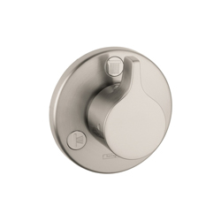 Hansgrohe 04354820 Ecostat S/E Diverter Trim, Brushed Nickel