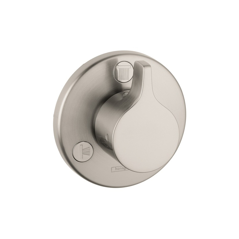 Hansgrohe 04354820 Ecostat S/E Diverter Trim, Brushed Nickel