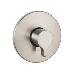Hansgrohe 04355820 Ecostat S/E Pressure Balance Trim, 6.5 gpm Shower, Brushed Nickel
