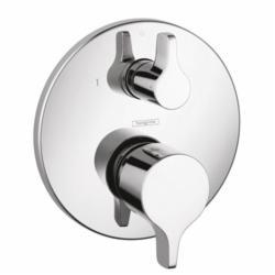 Hansgrohe 04448000 Ecostat S/E S/E Pressure Balance Trim, 4.5 gpm Shower, Chrome Plated