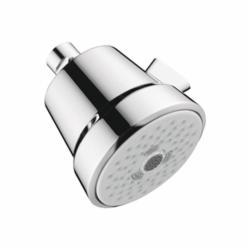 Hansgrohe 04500000 Club 100 3-Jet Shower Head, (3) Full/Pulsating Massage/Intense Turbo Spray, 2 gpm Maximum, Domestic