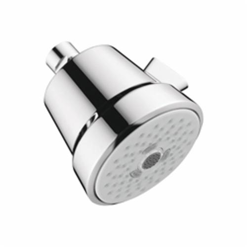 Hansgrohe 04500000 Club 100 3-Jet Shower Head, (3) Full/Pulsating Massage/Intense Turbo Spray, 2 gpm Maximum, Domestic
