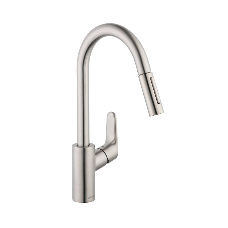 Consolidated Supply Co. | Hansgrohe 4505800 Focus Pull-Down Kitchen ...