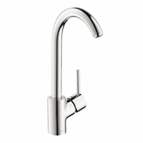 Hansgrohe 04870000 Talis S Kitchen Faucet, 1.5 gpm, Chrome Plated, 1 Handle, Commercial