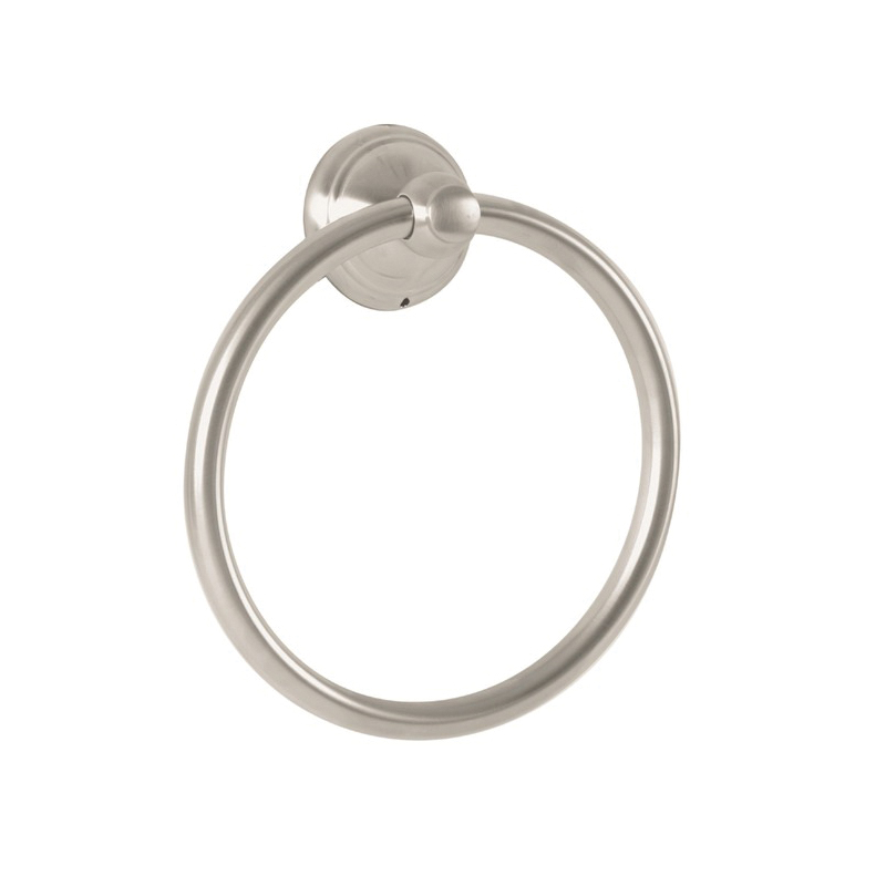 Hansgrohe 06095820 Wall Mount C Towel Ring, 7 in Dia Ring, 2 in OAD, Solid Brass
