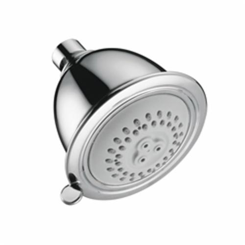 Hansgrohe 06126000 Croma C 75 2-Jet Shower Head, 2.5 gpm, 2 Sprays, Import