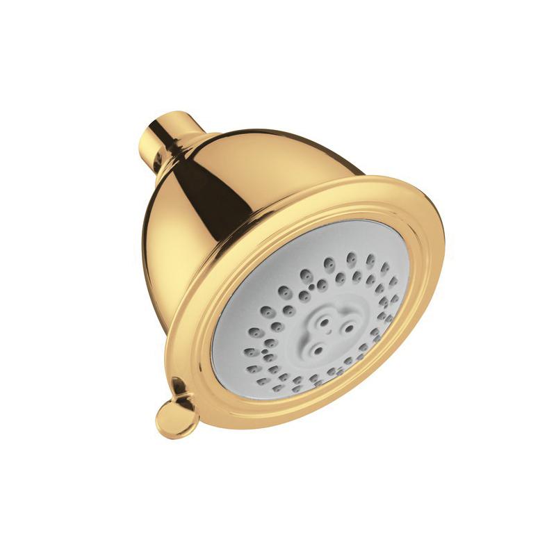 Hansgrohe 06126930 Croma C 75 2-Jet Shower Head, (2) Full/Massage Spray, 2.5 gpm Maximum, Round Head, Wall Mount