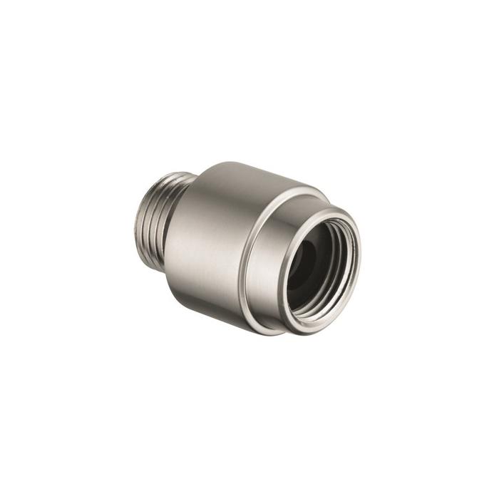 Hansgrohe 06510820 External Vacuum Breaker, 1/2 in, Solid Brass Body, Commercial
