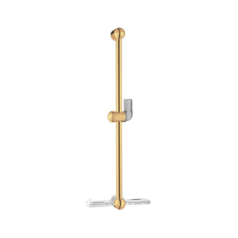 Hansgrohe 06890930 Unica E Wall Bar With Soap Dish, Wall Mount, Brass, Import