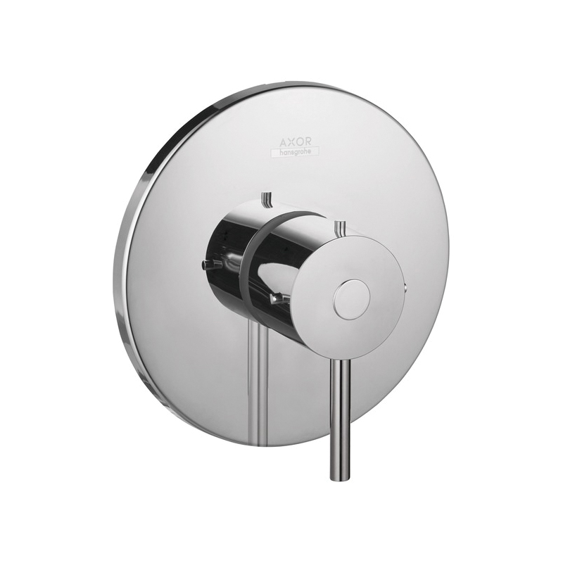 Hansgrohe 10407001 Axor Starck Pressure Balance Trim, 6.5 gpm Shower, Chrome Plated