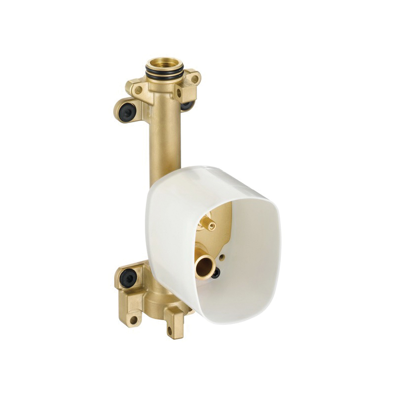 Hansgrohe 10650181 Axor Starck Rough-In, 1/2 in NPT Inlet, Brass Body, Import