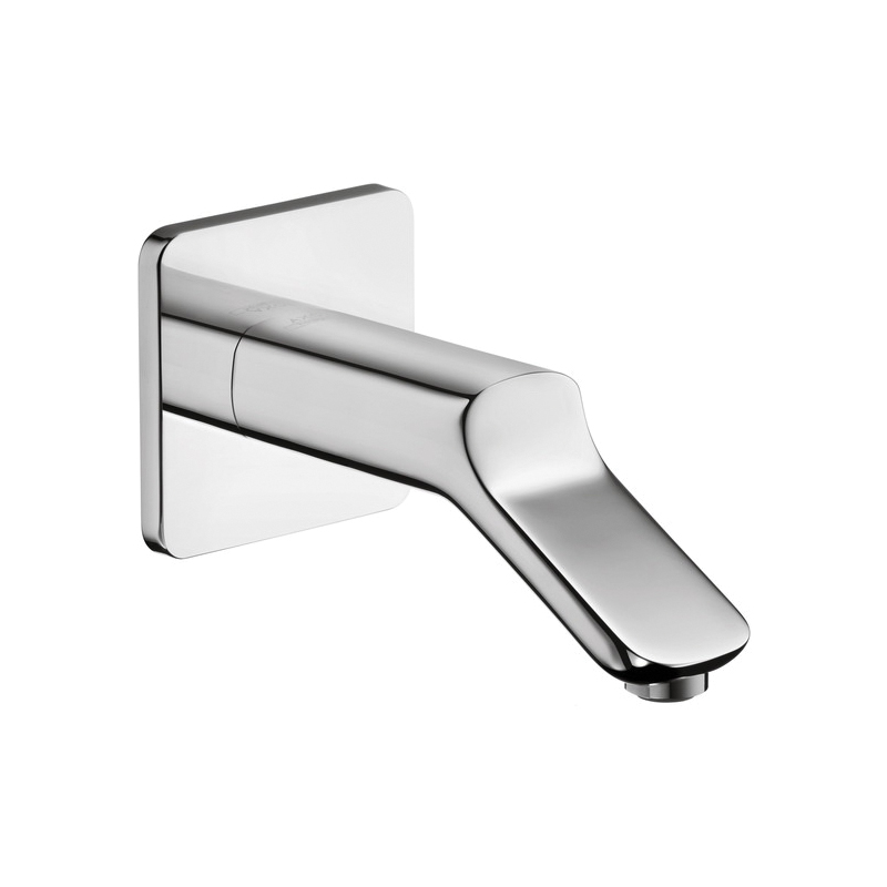 Hansgrohe 11430001 Axor Urquiola Tub Spout, 6-3/4 in L x 2-1/2 in H, Solid Brass, Chrome Plated, Import
