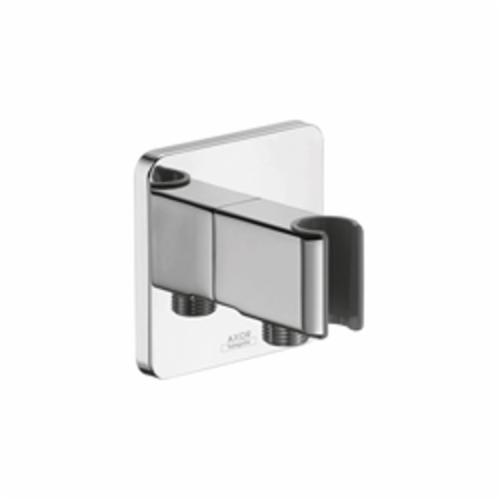 Hansgrohe 11626001 Axor Urquiola Hand Shower Porter With Outlet, Wall Mount, Brass