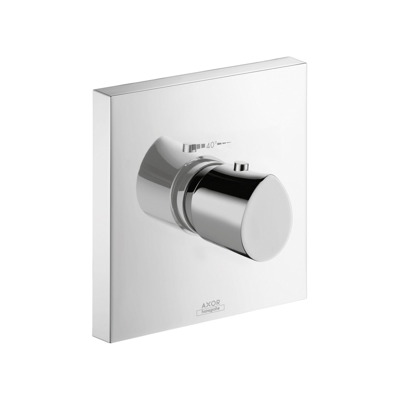 Hansgrohe 12711001 Axor Starck Organic High Flow Thermostatic Trim, Hand Shower Yes/No: No, Chrome Plated