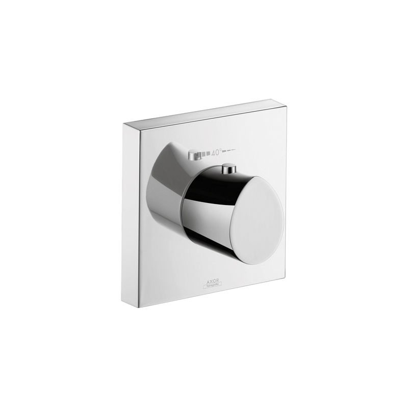 Hansgrohe 12712001 Axor Starck Organic Thermostatic Mixer Trim, Hand Shower Yes/No: No, Chrome Plated