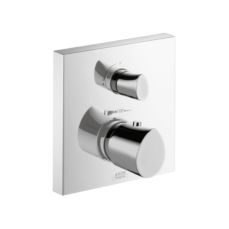 Hansgrohe 12715001 Axor Starck Organic Thermostatic Trim, Hand Shower Yes/No: No, Chrome Plated