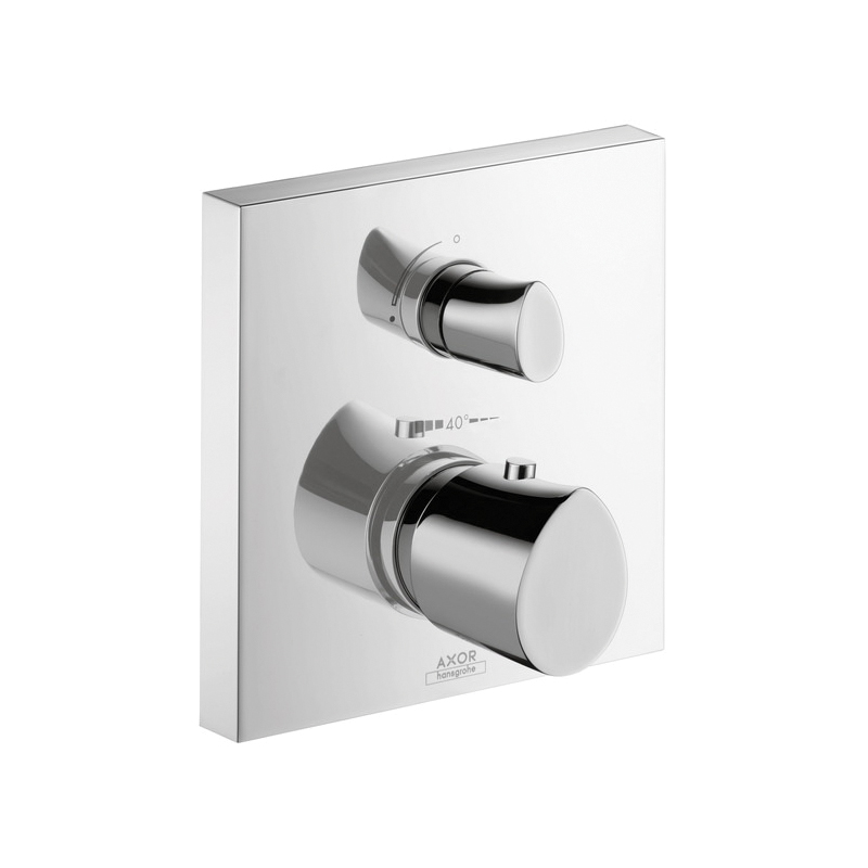 Hansgrohe 12716001 Axor Starck Organic Thermostatic Trim, Hand Shower Yes/No: No, Chrome Plated