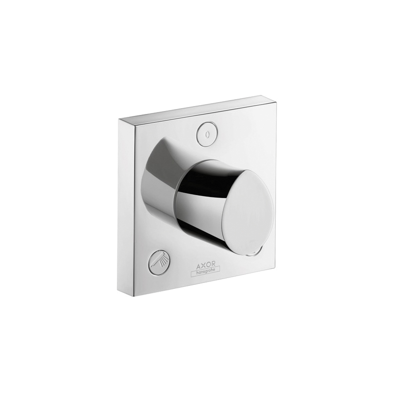 Hansgrohe 12731001 Axor Starck Organic Diverter Trim, Chrome Plated