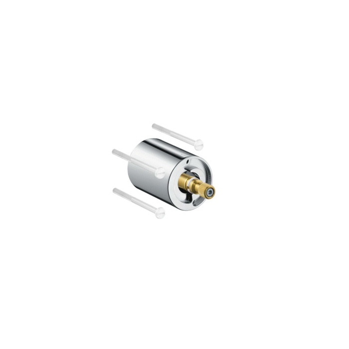 Hansgrohe 12790000 Axor Starck Organic Extension Set, For Use With 5 x 5 in Thermostatic Trim, Metal, Chrome Plated, Import