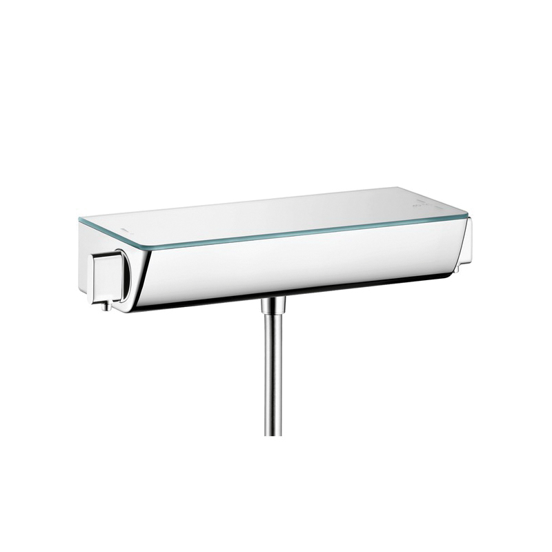 Hansgrohe 13161001 Raindance Ecostat Select Exposed Shower Thermostat, For Use With: Shower, Brass, Chrome Plated, Domestic