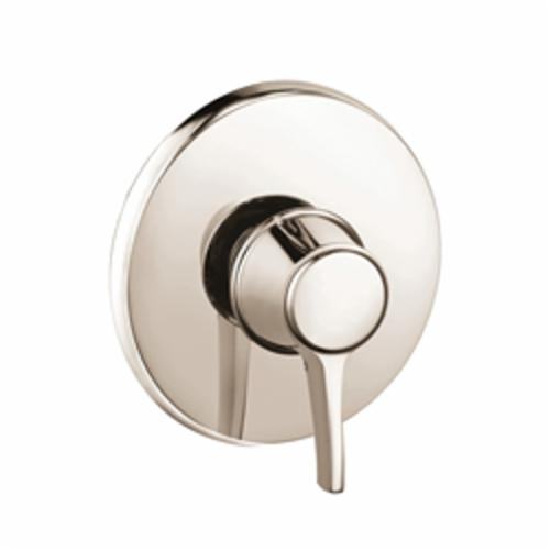 Hansgrohe 15404831 Metris C Pressure Balance Trim, 6.5 gpm Shower, Polished Nickel