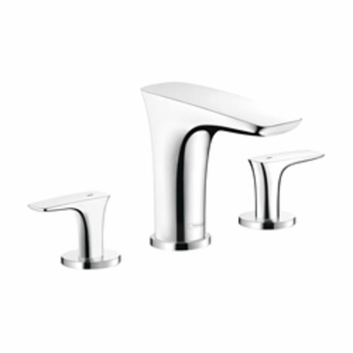 Hansgrohe 15440001 PuraVida Roman Tub Set Trim, 6.6 gpm, Chrome Plated, 2 Handles, Hand Shower Yes/No: No