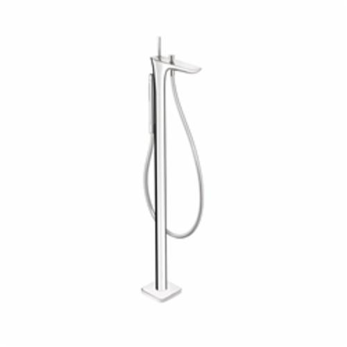 Hansgrohe 15473001 PuraVida Free Standing Tub Filler Trim, 5 gpm, Chrome Plated, 1 Handles, Hand Shower Yes/No: Yes