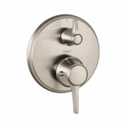 Hansgrohe 15752821 Ecostat C Thermostatic Trim, Hand Shower Yes/No: No, Brushed Nickel