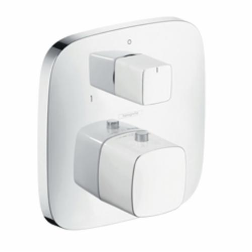 Hansgrohe 15771401 PuraVida Thermostatic Trim, Hand Shower Yes/No: No, Chrome Plated/White