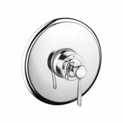 Hansgrohe 16508001 Axor Montreux Pressure Balance Trim, 6.5 gpm Shower, Chrome Plated