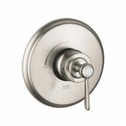 Hansgrohe 16508821 Axor Montreux Pressure Balance Trim, 6.5 gpm Shower, Brushed Nickel