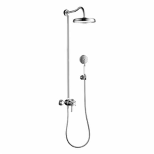 Hansgrohe 16570001 Axor Montreux Shower Pipe, MNPT, 9-5/8 in OD