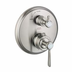 Hansgrohe 16801821 Axor Montreux Thermostatic Trim, Hand Shower Yes/No: No, Brushed Nickel