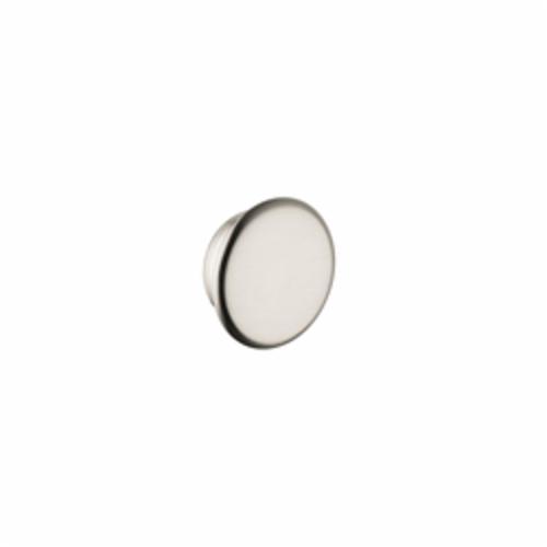 Hansgrohe 16911820 Axor Montreux Faucet Color Cap Set, Porcelain, Brushed Nickel, Import