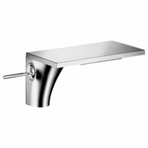 Hansgrohe 18010001 Axor Massaud Bathroom Faucet, 1.2 gpm, 4-1/4 in H Spout, 1 Handle, 1 Faucet Hole, Chrome Plated, Import, Commercial