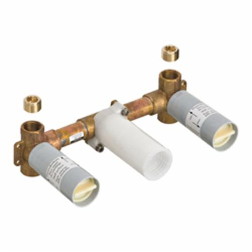 Hansgrohe 18113181 Axor Massaud Rough-In Valve, 1/2 in Nominal, 145 psi, Brass Body, Import, Commercial
